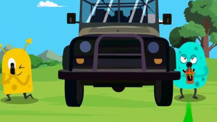 搞笑吃鸡动画:一言不合就冲锋,达夫你这是抢机票去了吗?