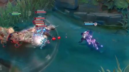 英雄联盟:蝎子看完芮尔的大招之后,悄悄的退出了英雄联盟