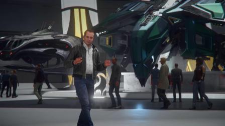 【游民星空】游戏《星际公民》Esperia战机展示