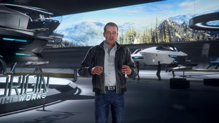 【游民星空】游戏《星际公民》Origin战机展示