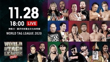 NJPW 2020.11.28 The World Tag League 第六日 日语解说