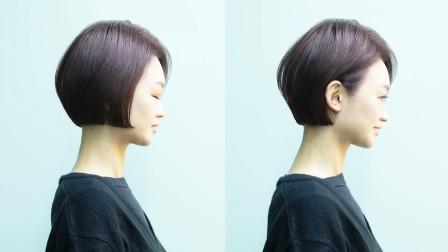 文雅Bob短发运用了那些巧妙技术做修剪,美发技术一一分析讲解