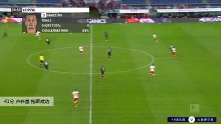 卢科基 德甲 2020/2021 RB莱比锡 VS 比勒费尔德 精彩集锦
