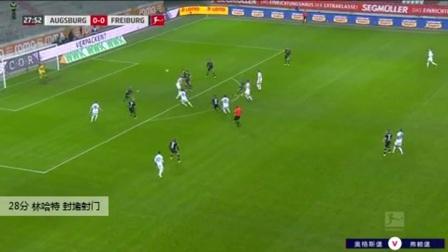林哈特 德甲 2020/2021 奥格斯堡 VS 弗赖堡 精彩集锦