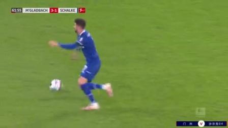 第62分钟门兴格拉德巴赫球员普利亚射门 - 被扑