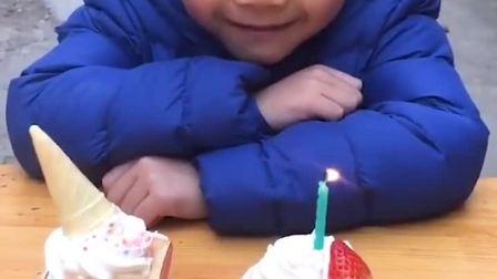 忧伤的童年:萌娃过五岁生日喽