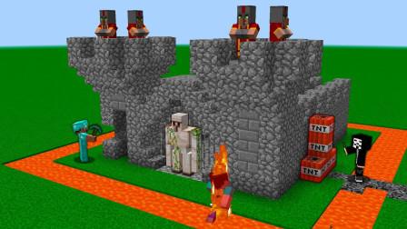 我的世界MC动画:如何在《我的世界》中捕捉城堡