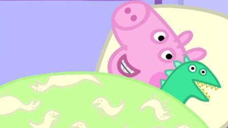佩奇一家的游泳比赛精彩无比吗?  小猪佩奇的假期 粉红猪小妹 佩奇和伙伴们 陌上千雨解说
