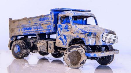 小伙捡到1980年运输卡车,将其一顿捯饬后,不料赚大发了!