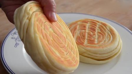 面粉不要蒸馒头包饺子了,教你新吃法,一切一卷,外酥里软,真香