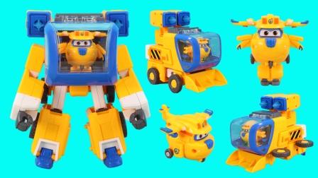 超级飞侠多多超级机器人装备玩具