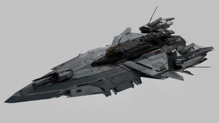 【游民星空】《星际公民》英仙座珀尔修斯号战舰