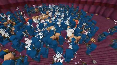 我的世界动画-猪灵兵 vs 幻术师-stormfrenzy