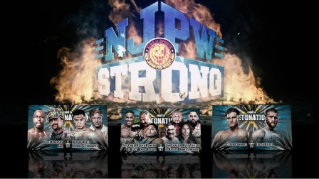 NJPW 2020.11.28 Strong EP.17 Road To NEW JAPAN SHOWDOWN 日语解说