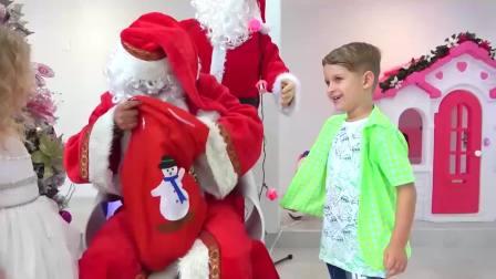 国外少儿时尚,圣诞老人带来什么礼物呢,一起来看看吧