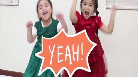 美国时尚儿童:小姐妹之间争抢惊喜蛋玩具,真可爱