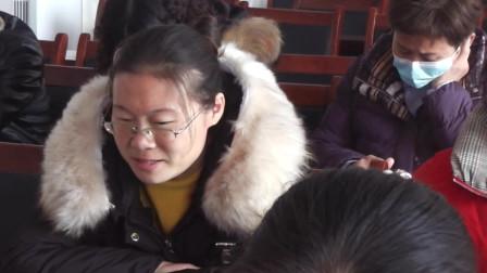 南坞镇一中召开九年级期中考试总结座谈会(3)