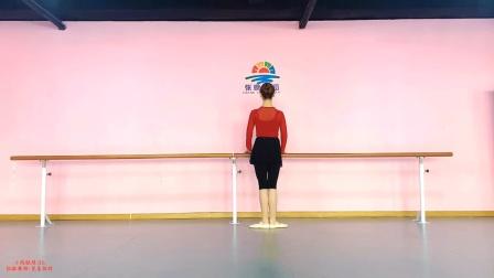 张暾舞蹈-芭蕾教材组合六《小踢腿练习》