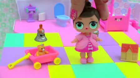 萌萌的惊喜娃娃的家里有好多可爱的小玩具,一起来瞧瞧。