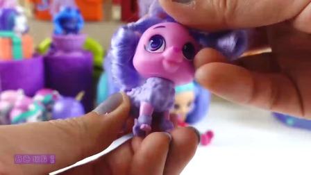小马宝莉星光熠熠惊喜小箱子,拆小马驹和公主盲盒玩具