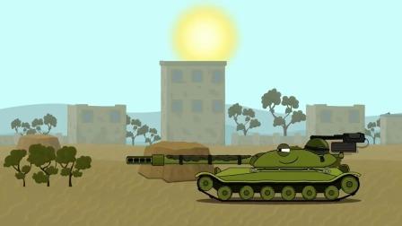 趣味动画:钢铁般的怪物坦克