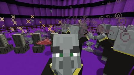 我的世界动画-唤摩者 vs 末影螨+ 蠹虫