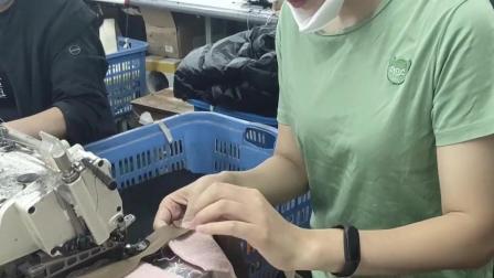 上班一条虫,下班一条龙。每到上夜班的时候就容易困,有次剪线头剪到自己的手了,才清醒的。