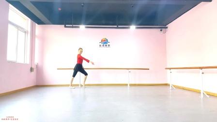 张暾舞蹈-芭蕾教材组合十《大踢腿》