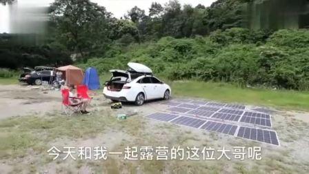 自驾游偶遇牛人,自改太阳能汽车进藏,充满可续航400公里(3)