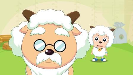 喜羊羊:喜羊羊找到证人,是一只蜗牛,这走路速度...