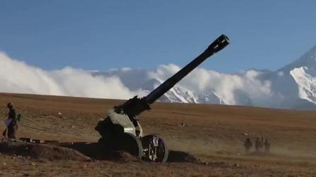 海拔4600米, 加榴炮跨昼夜实弹射击壮观上演