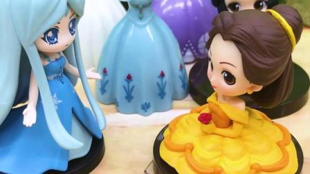 宝宝早教玩具,白雪想要新裙子,贝儿用宝石给她买回了裙子