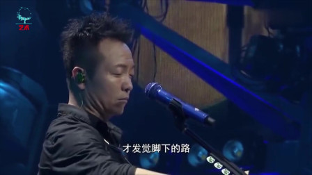 许巍《蓝莲花》现场版,嘶哑嗓音唱出男人心声,每次听都会流泪!