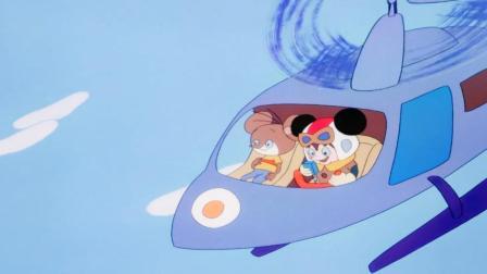 舒克和贝塔:舒克好棒啊,成了宇航员,拉着好多旅客呢