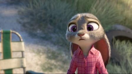 《疯狂动物城 第1集》兔子穿了牛仔裤好像(5)