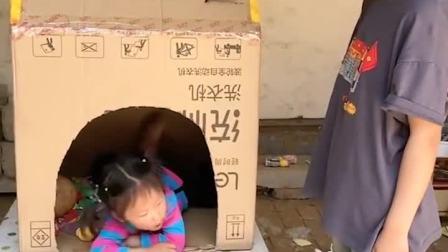 趣味童年:小妹妹的玩具箱子真有趣
