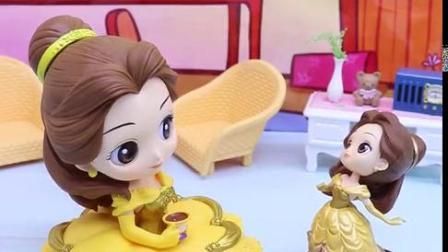 亲子有趣幼教动画:贝儿羡慕白雪公主家的大房子