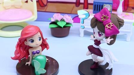 亲子有趣幼教动画:罗丽为什么会被女巫变成了美人鱼呢?