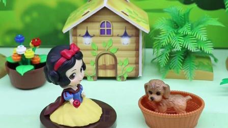 亲子有趣幼教动画:小狗的宝宝去哪里了呢?