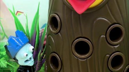 亲子有趣幼教动画:为什么大树不让乔治帮他清理身体里的虫子?