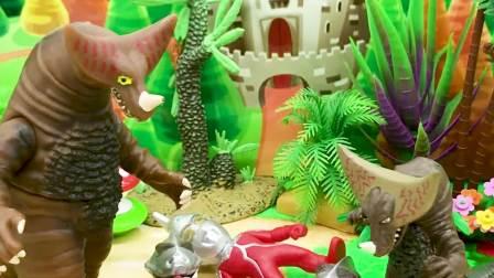 亲子有趣幼教动画:小怪兽为什么要怪兽爸爸放了奥特曼们?