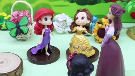亲子有趣幼教动画:公主们举办唱歌比赛,白雪能拿到第一名吗?
