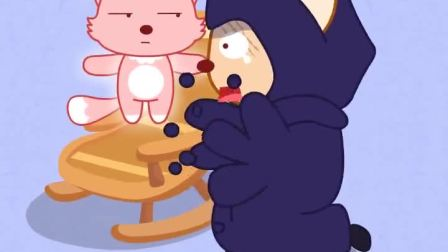 卡通故事:猫小帅:黑巫师想逃离汉字公主