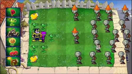 植物大战僵尸:迷你小僵尸来了