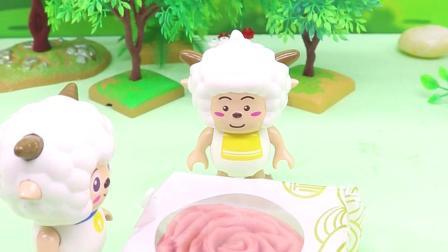 亲子有趣幼教动画,可没有小红心巫婆婆不给他月饼吃
