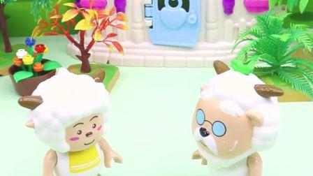 亲子有趣幼教动画:懒羊羊想吃棒棒糖,可没人给他买
