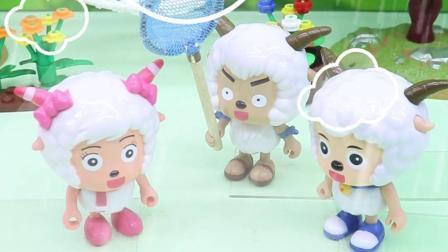 亲子有趣幼教动画:喜羊羊他们抓星星,真的抓到了吗?