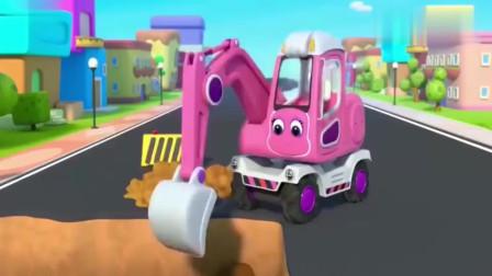 宝宝巴士:怪兽车只会制造麻烦,扫地车忙不停