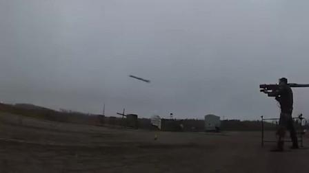 击中并且融化目标,实拍萨姆-18防空