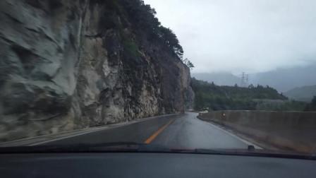 川藏线自驾游 林芝波密县农村 刚开始下雨